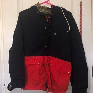 AEO hooded rain jacket